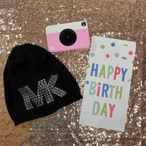 Michael Kors Black Winter Hat
